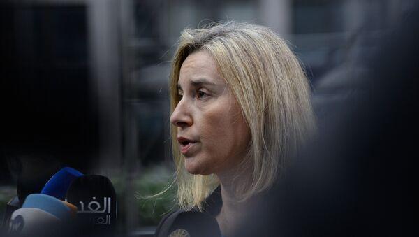 Шефица европске дипломатије Федерика Могерини - Sputnik Србија