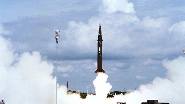 Ракетне пробе америчке војске - лансирање ракете Першинг II - Sputnik Србија