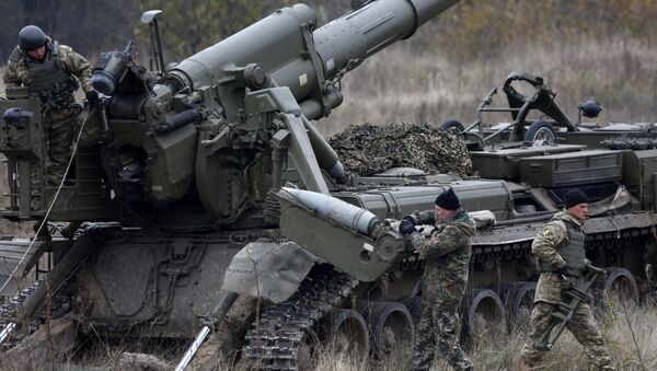 Украјинска артиљерија - Sputnik Србија