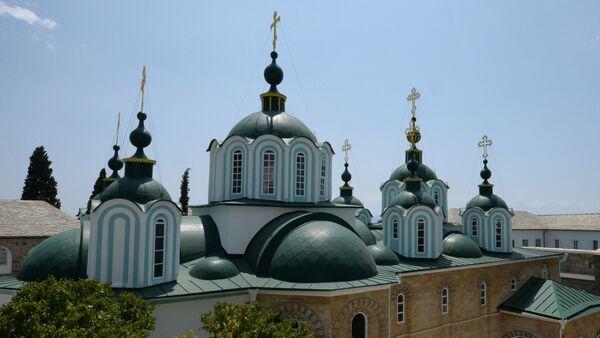 Свети Пантелејмон на Светој гори - Sputnik Србија