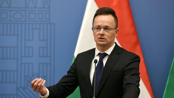 Ministar spoljnih poslova Mađarske Peter Sijarto - Sputnik Srbija