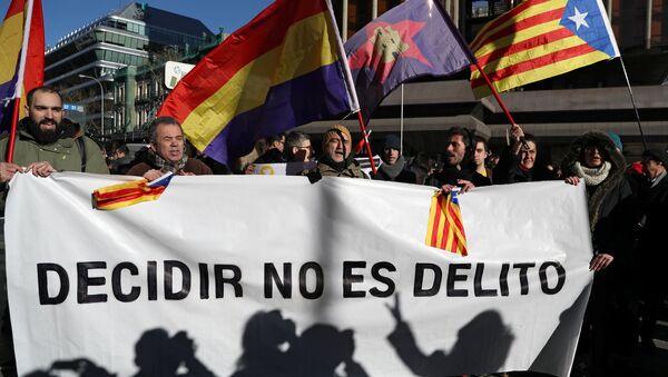 Демонстрације у Каталонији - Sputnik Србија