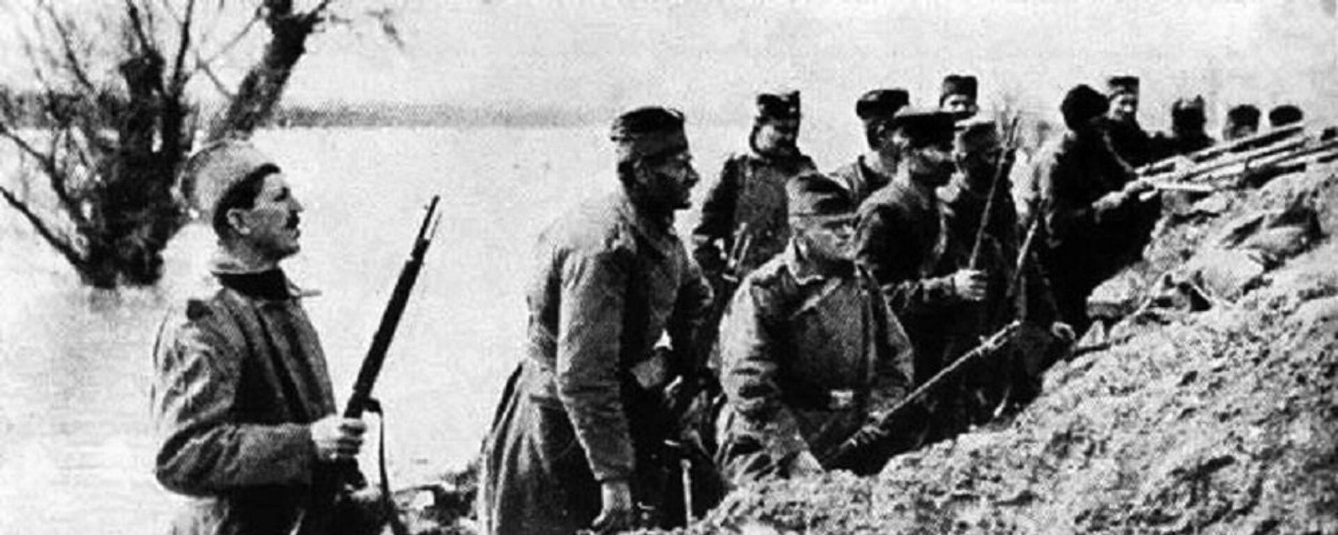 Српски војници у Првом светском рату - Sputnik Србија, 1920, 09.06.2020