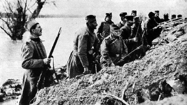 Srpski vojnici u Prvom svetskom ratu - Sputnik Srbija