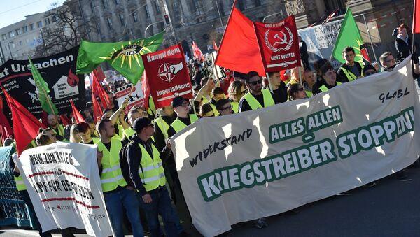 Протест у Минхену - Sputnik Србија