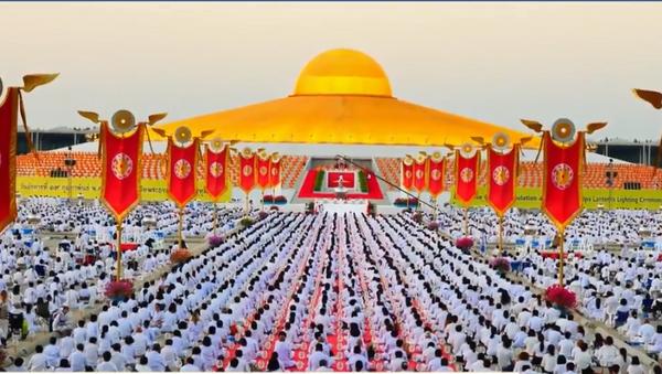 Budistički sveštenici obeležili pandan Danu zaljubljenih - Sputnik Srbija