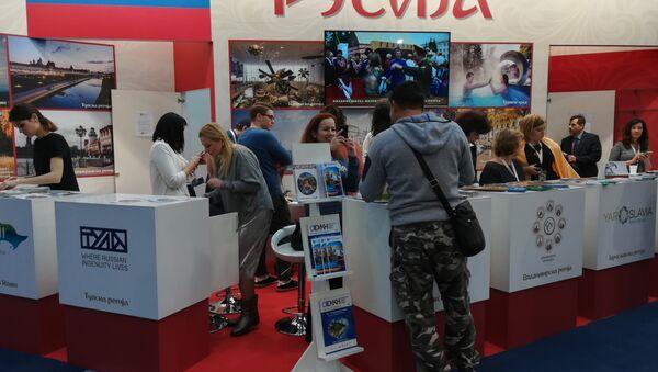 Štand Rusije na Sajmu turizma - Sputnik Srbija