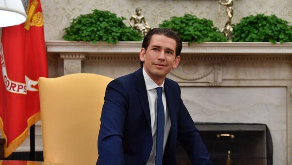 Austrijski kancelar Sebastijan Kurc - Sputnik Srbija