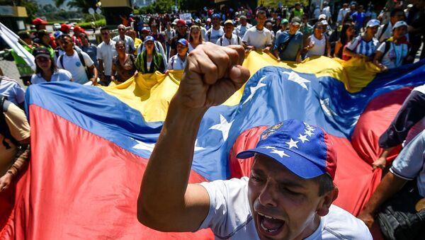 Venecuela protest - Sputnik Srbija