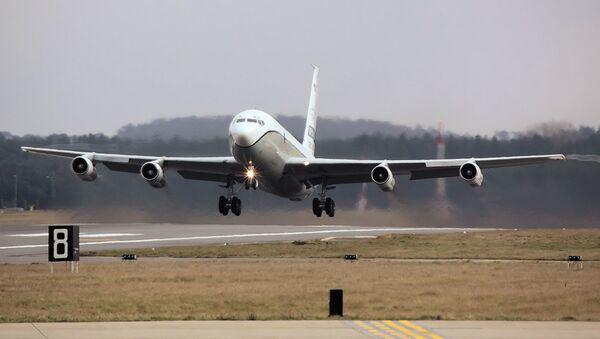 Американский самолет наблюдения OC-135B Open Skies - Sputnik Србија