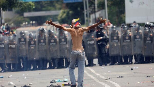 Demonstracije u Venecueli - Sputnik Srbija