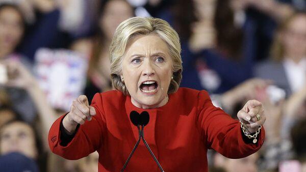 Бивши председнички кандидат Демократске партије САД Хилари Клинтон - Sputnik Србија