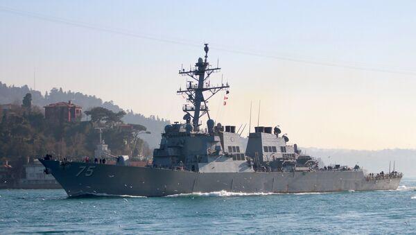 Амерички разарач класе Бурк Доналд Кук - Sputnik Србија