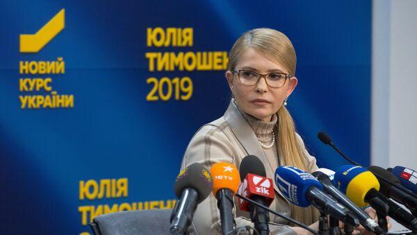 Председнички кандидат на изборима у Украјини Јулија Тимошенко - Sputnik Србија