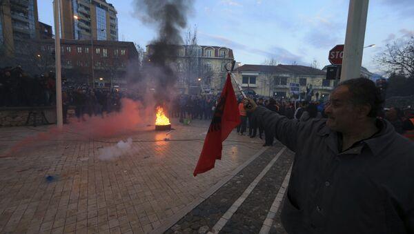 Protesti protiv vlade Albanije u Tirani 26. feb. 2019 - Sputnik Srbija