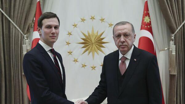 Džared Kušner i Redžep Tajip Erdogan - Sputnik Srbija