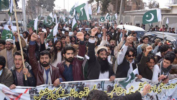 Pakistanci na ulicama posle obaranja indijskih aviona - Sputnik Srbija