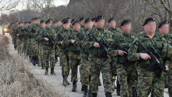 Vojska Srbije maršira - Sputnik Srbija