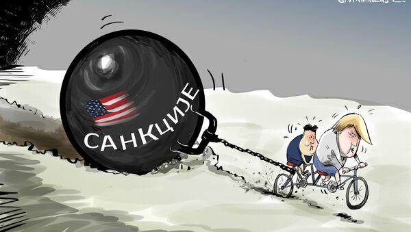 Зашто Трамп И Ким нису постигли уговор - Sputnik Србија