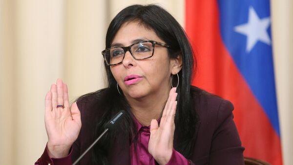 Potpredsednica Venecuele Delsi Rodriges - Sputnik Srbija
