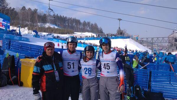 Српски скијаши на Универзијади у Краснојарску - Sputnik Србија