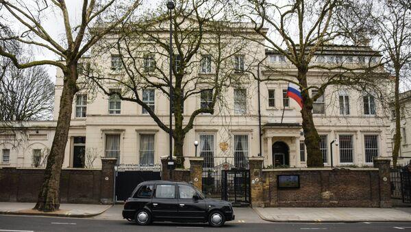 Зграда амбасаде Русије у Лондону - Sputnik Србија