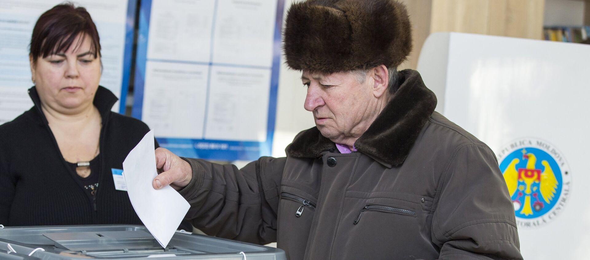 Гласање на парламентарним изборима у Молдавији - Sputnik Србија, 1920, 11.07.2021