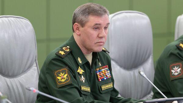 Начелник Генералштаба Оружаних снага Русије генерал Валериј Герасимов - Sputnik Србија