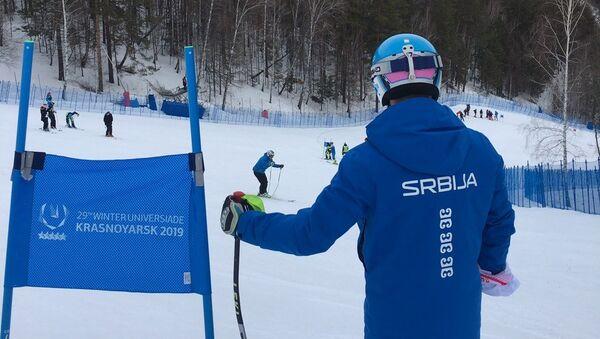 Srpski skijaši u Krasnojrsku - Sputnik Srbija