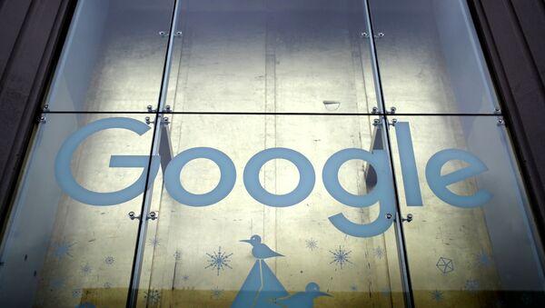 Улаз у просторије Гугла на Менхетну у Њујорку - Sputnik Србија