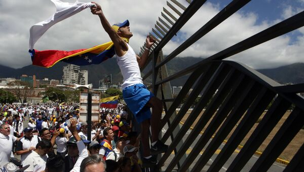 Opozicija u Karakasu - Sputnik Srbija