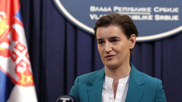 Ana Brnabić - Sputnik Srbija