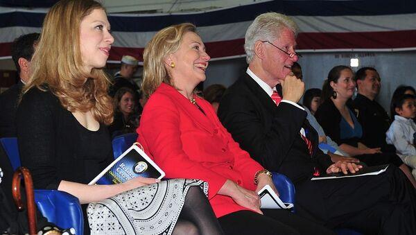 Čelsi, Hilari i Bil Klinton - Sputnik Srbija