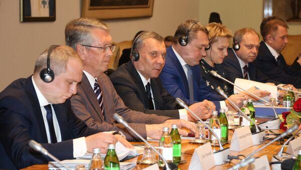 Jurij Borisov na čelu ruske delegacije u Beogradu - Sputnik Srbija
