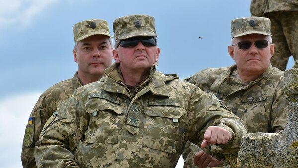 Načelnik Generalštaba Oružanih snaga Ukrajine general Viktor Muženko - Sputnik Srbija