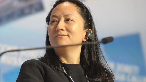 Meng Wanzhou, Chief Executive Officer, Huawei Technologies, attending the 6th Annual VTB Capital Investment Forum Russia Calling at the World Trade Center, October 2, 2014 - Sputnik Србија