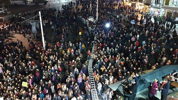 Protest u Istanbulu - Sputnik Srbija