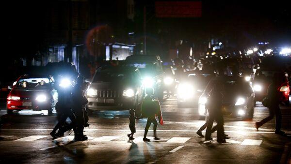 Mrak na ulicama Karakasa - Sputnik Srbija
