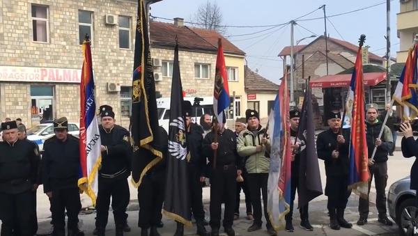 Postrojavanje Ravnogoraca, Višegrad - Sputnik Srbija