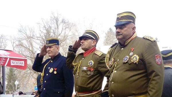 Obeležavanje godišnjice hapšenja četničkog komandanta Draže Mihailovića u Višegradu - Sputnik Srbija