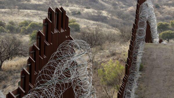 Зид на граници САД и Мексика - Sputnik Србија
