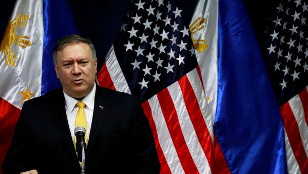 Američki državni sekretar Majk Pompeo - Sputnik Srbija