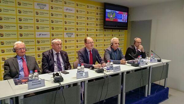 Konferencija u Medija centru - Sputnik Srbija