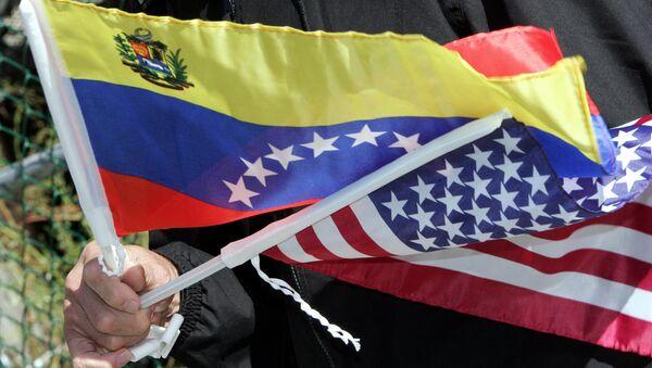 Заставе САД и Венецуеле - Sputnik Србија