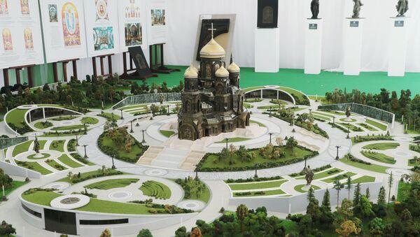 Макета главног храма Оружаних снага Русије - Sputnik Србија