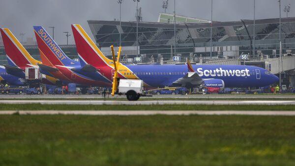 Авиони типа боинг 737 макс 8 на аеродрому у Хјустону - Sputnik Србија