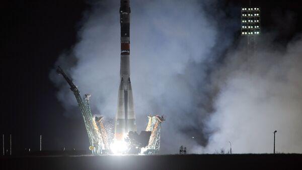 """Lansiranje """"Sojuza"""" na Međunarodnu svemirsku stanicu - Sputnik Srbija"""