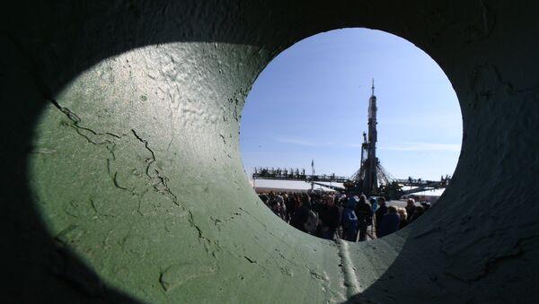 Sojuz na kosmodromu Bajkonur - Sputnik Srbija