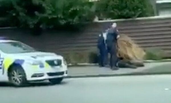 Policija privodi osumnjičenog za masakr u dve džamije u Krajstčerču na Novom Zelandu - Sputnik Srbija