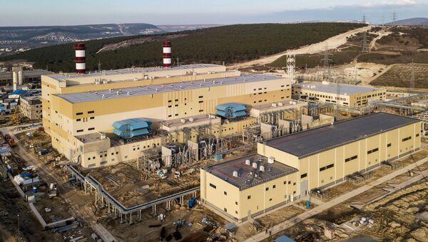 Izgradnja termoelektrane Balaklavska na Krimu - Sputnik Srbija